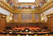 La salle de l'assemblée générale du Conseil d'Etat.