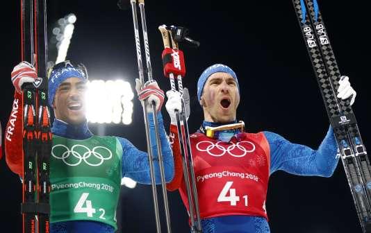 Maurice Manificat et Richard Jouve apportent sa deuxième médaille au ski de fond français dans ces Jeux olympiques.