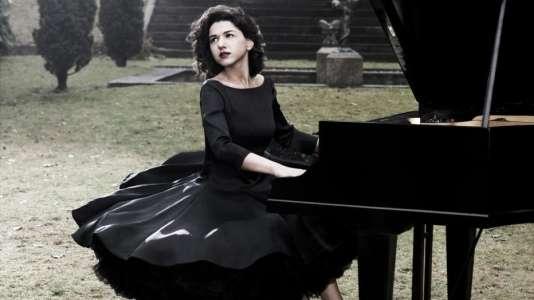 La pianisteKhatia Buniatishvili.