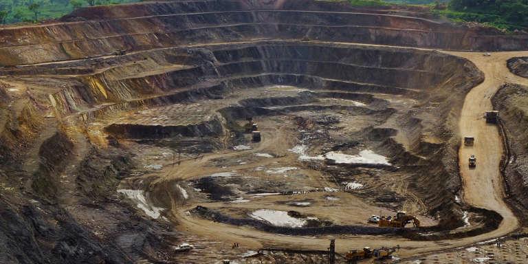 Sur le site de la mine de cuivre et de cobalt de Tenke Fungurume, le 29 janvier 2013.