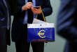 Réunion des ministres des finances de l'eurozone, à Bruxelles, lundi 19 février.