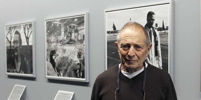 Le photographe sud-africain, David Goldblatt, lors de l'exposition«TJ 1948-2010», à la Fondation Henri Cartier-Bresson, à Paris, en janvier 2011.
