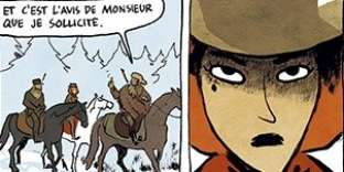 Extrait de«Serena», de Terkel Risbjerg (dessin) et Anne-Caroline Pandolfo (scénario).