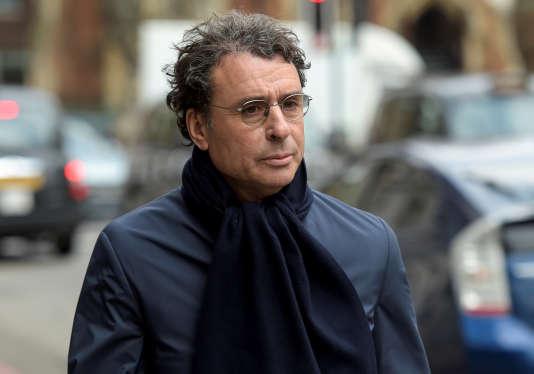 Alexandre Djouhri le 22 février 2018.