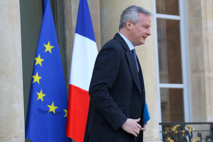Le ministre de l'économie et des finances, Bruno Le Maire, le 22 février 2018, à Paris.