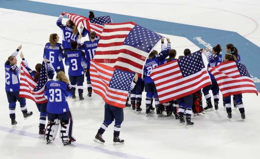 Les hockeyeuses américaines sont championnes olympiques vingt ans après leur premier titre.
