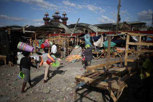 Port-au-Prince, en Haïti, le 21février.Le 8 février, le quotidien britannique «The Times» révélait que des membres haut placés d'Oxfam avaient eu recours à des prostituées et avaient abusé sexuellement de mineures en 2011 en Haïti.