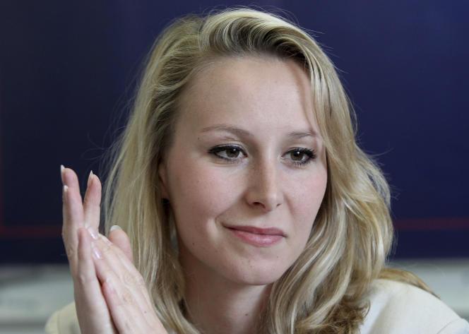 L'ancienne députée FN Marion Maréchal en avril 2017.