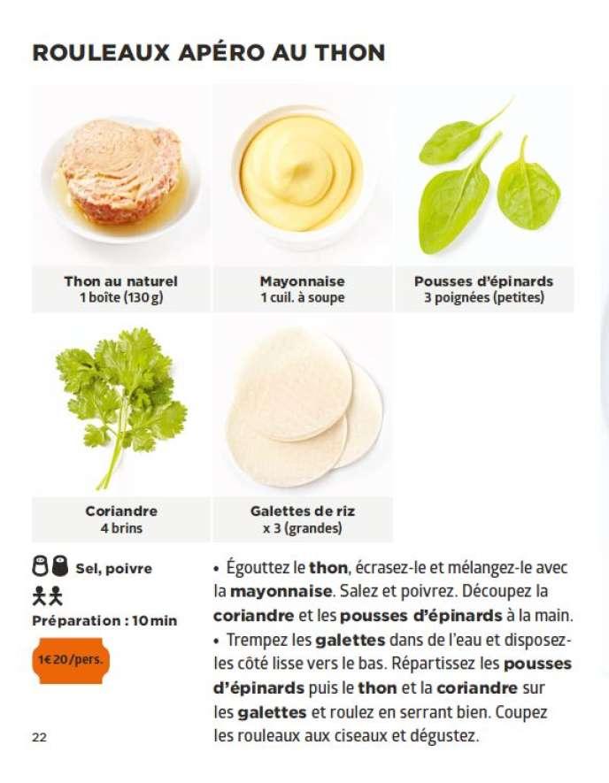 La Cuisine Des Etudiants 1 9 Les Rouleaux Apero Au Thon