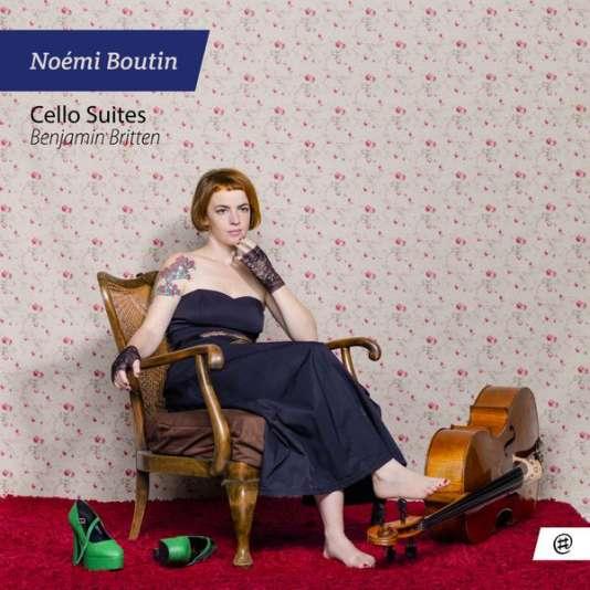 Pochette de l'album« Cello Suites, Benjamin Britten», de Noémi Boutin.