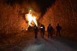 Les opposants au projet de Bure occupaientle bois Lejuc. Ils ont été évacués par le gendarmerie nationale, le 22 février.