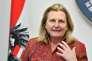 Karin Kneissl, ministre des affaires étrangères autrichienne, le 22 février 2018.