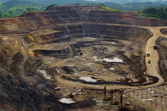 La mine de cuivre et cobalt de Tenke Fungurume, en République démocratique du Congo, en 2013.