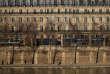 Vue sur des immeubles bourgeois bordant la Seine, à Paris, le 22 février.