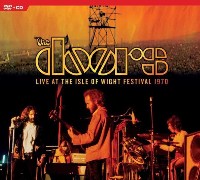 Pochette de l'album«Live at The Isle of Wight Festival 1970», de The Doors.