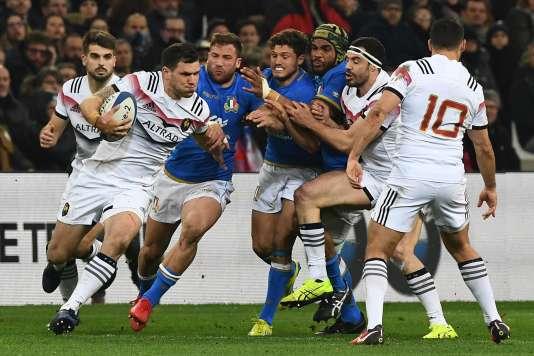 Tournoi des six nations : la France bat l'Italie et met fin à 11 mois sans victoire