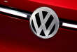 FILE PHOTO: A car with the Volkswagen VW logo badge is seen on display at the North American International Auto Show in Detroit, Michigan, U.S., January 16, 2018.  REUTERS/Jonathan Ernst/File Photo
