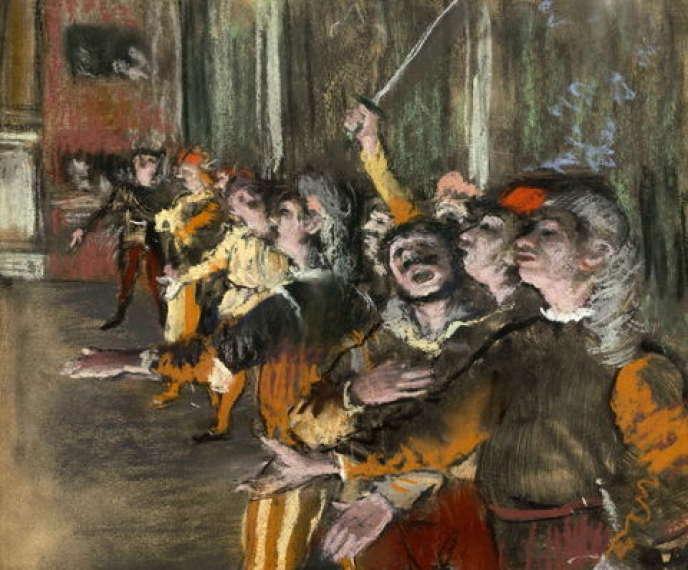 «Les Choristes» (aussi appelé« Les Figurants»), de Degas.