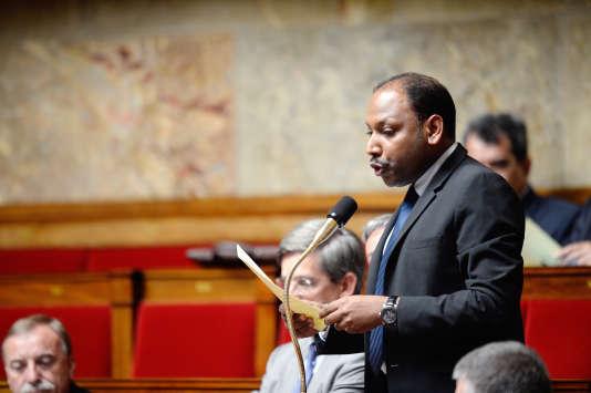 Le député de La Réunion Thierry Robert, le 16juillet 2013 à l'Assemblée nationale.