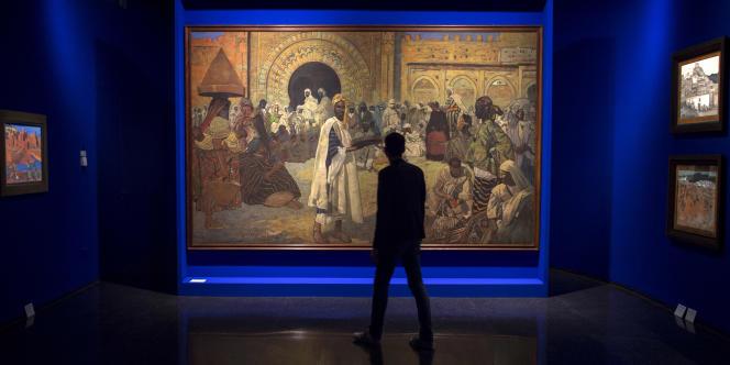 Au Musée Yves-Saint-Laurent de Marrakech, au Maroc, en octobre 2017.