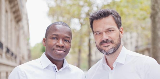Tidjane Deme et Cyril Collon, les deux associés de Partech Africa.