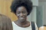 Grace Seri interprète Seyna dans « Le Bleu Blanc Rouge de mes cheveux» (2016).