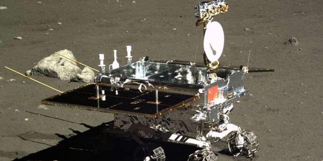 Le rover chinois «Lapin de jade», déposé sur la Lune en 2013.