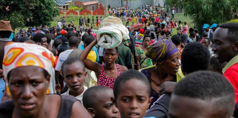 Cinq réfugiés congolais tués dans des heurts avec la police au Rwanda