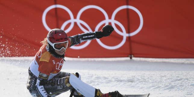 Ester Ledecka en snow.