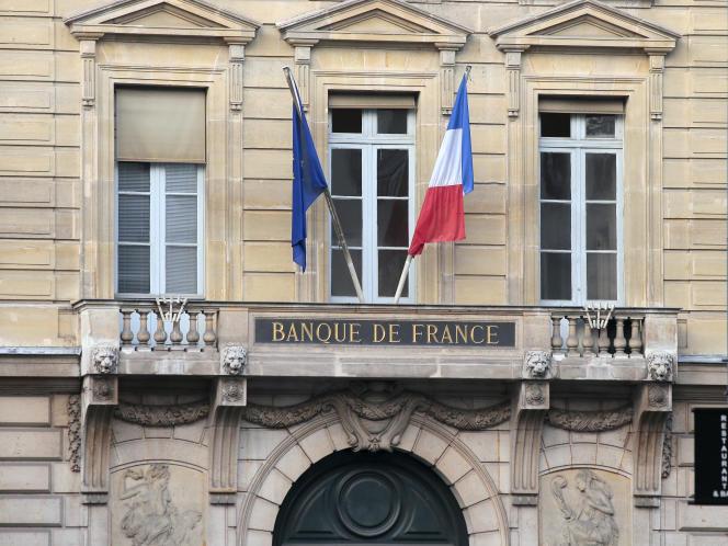 La Banque de France, en 2012.