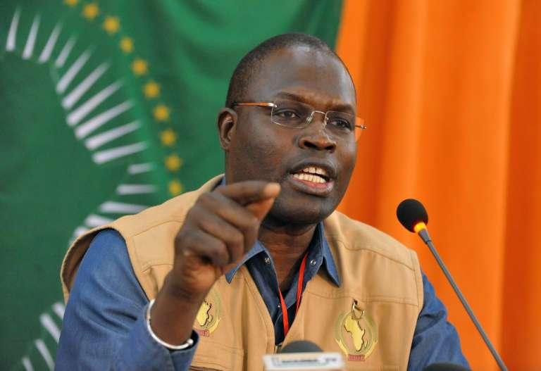Le maire de Dakar, Khalifa Sall.