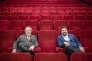 Bernard, le père, et Philippe, le fils, Coppey dans leur cinéma, le Ociné, à Saint-Omer, le23 février 2018.
