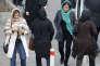 Des Iraniennes dans les rues de Téhéran, le 7 février.