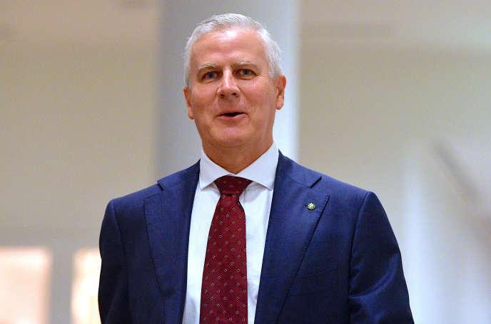 Le nouveau premier ministre adjoint d'Australie, Michael McCormack, a été nommé à ce poste le 26 février.