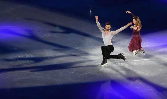 Gabriella Papadakis et Guillaume Cizeron, à Pyeongchang en février 2018.