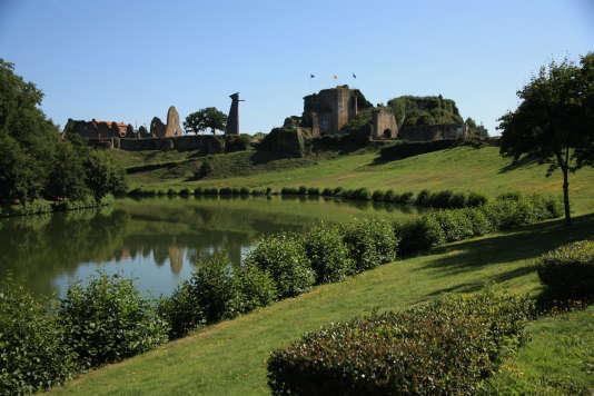 Le château de Tiffauges (Vendée).