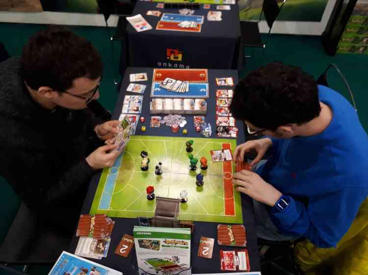 Du plus simple au plus compliqué, les jeux présentés sur le salon faisaient surtout la part belle aux nouveautés de l'année.
