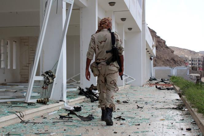 A Aden, dans le sud du Yémen, le 25 février.