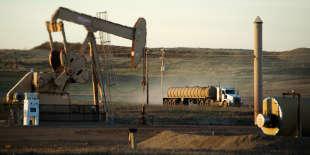 Extraction de pétrole dans le Dakota du Nord, en 2014.