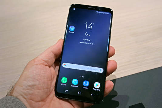 Le format du Galaxy S9 est quasiment identique à celui du S8.
