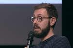 Pierre Durand, cofondateur d'Humaid à la conférence O21 à Nantes.