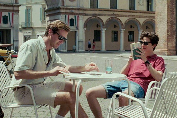 Oliver (Armie Hammer) et Elio (Timothée Chalamet) dans «Call Me by Your Name», de Luca Guadagnino.