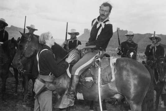 John Wayne (le lieutenant-colonel Yorke) dans «Rio Grande» (1950), de John Ford.