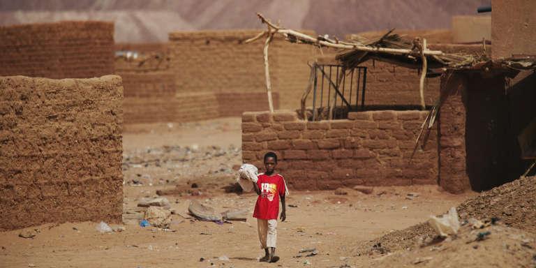 A Arlit, au Niger, en 2013.