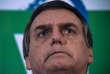 Jair Bolsonaro, lors de la conférence de presse au cours de laquelle il annonce sa candidature à l'élection présidentielle, le 10 août 2017.