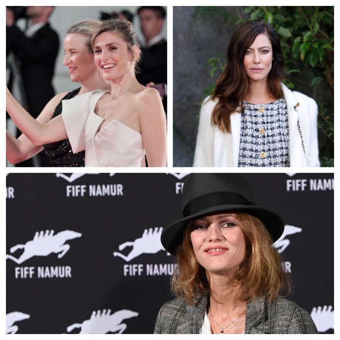 Les comédiennes Julie Gayet, Anna Mouglalis etVanessa Paradisfont partie des signataires de cette campagne baptisée #MaintenantOnAgit.