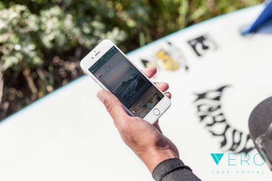 L'application Vero est gratuite pour le premier million d'utilisateurs inscrits.