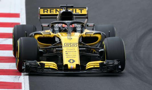 La RS18 de Renault est aux mains de Nico Hülkenberg et Carlos Sainz Jr pour sa troisième saison en tant qu'écurie de F1.
