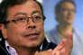 Le candidat à la présidence de Colombie, Gustavo Petro, le 26 février à Bogota.