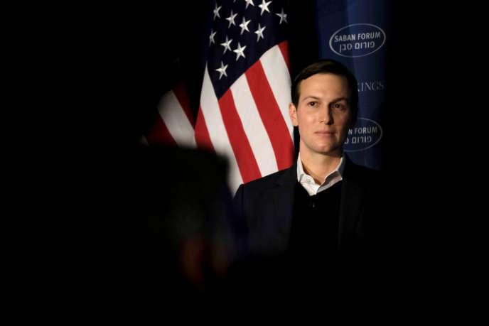 Le gendre du président américain, Jared Kushner, à Washington le 3 décembre 2017.